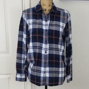 Woolrich flannel shirt sz L